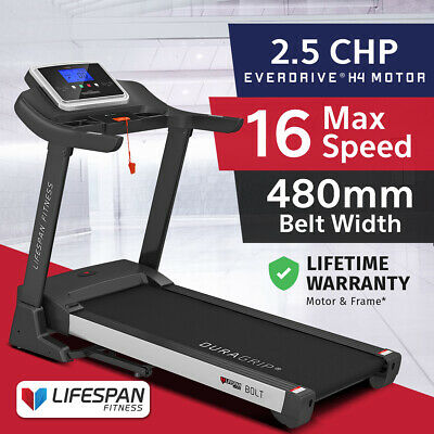 AU1069 • Buy Lifespan Fitness Bolt M1 Electric Treadmill EverDrive H4 Motor 480mm Fitlink