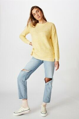 AU29.99 • Buy Cotton On Womens Archy Pullover Knits  In  Yellow