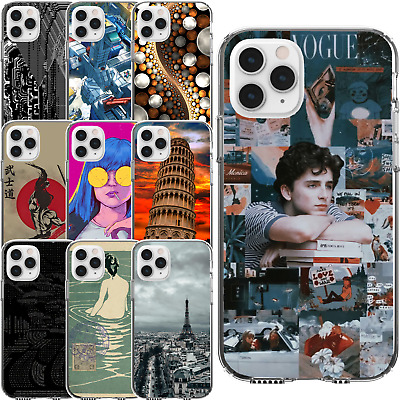 £9.16 • Buy Silicone Cover Case Random Abstract Photo Internet Game Meme Pop Culture