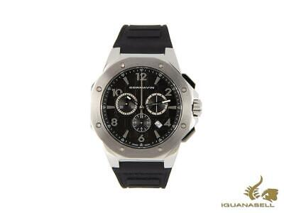Cornavin Downtown Sport Quartz Watch, Chronograph, 44,5mm, Black, CO2012-2001R • 465£
