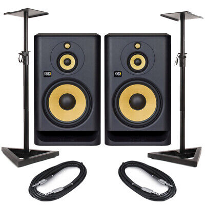 £828 • Buy KRK Rokit RP10-3 G4 (Pair) With Stands & Cables