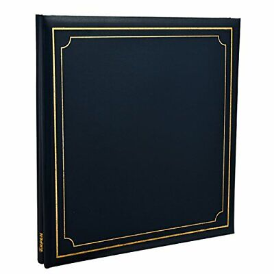 Arpan Extra-Large 32x26cm Self Adhesive Photo Album 24/Sheets 48/Sides Leather • 26.99£
