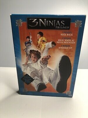 $ CDN79.79 • Buy 3 Ninjas Trilogy (DVD, 2005, 3-Disc Set) Victor Wong Michael Treanor
