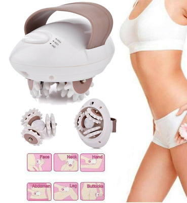 3D Electric Anti-Cellulite Body Massager Roller Shaping Slim Massaging Machine • 12.59£