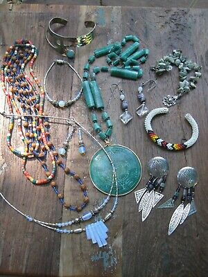 $ CDN40.95 • Buy Vintage Southwest Sterling Silver And Costume Jewelry Lot
