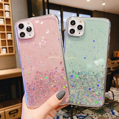 AU11.58 • Buy Glitter Shockproof Slim Case Cover Luxury For Apple IPhone 11 Pro Max XS XR 8 SE