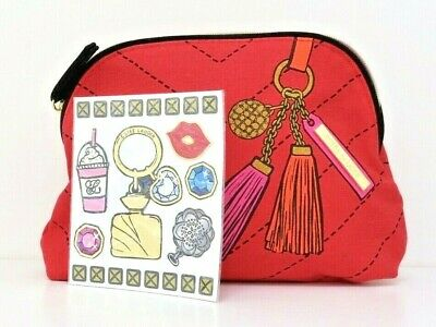 Estee Lauder Red Makeup/Cosmetics/Travel Bag - New With Stickers • 3.99£