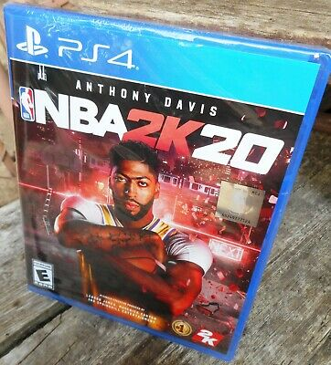 $ CDN23.93 • Buy Anthony Davis PS4 PLAYSTATION 4  2020  NBA 2K 20 Video Game - NEW - Never Opened
