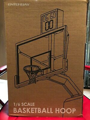 $700 • Buy Enterbay Original 1/6 Scale NBA Basketball Hoop W/ Shot Clock OR-1002