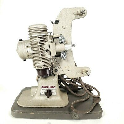 $ CDN59.85 • Buy Bell And Howell 8mm Projector Model 122LR With Lid, Spool, Cable, And Manual