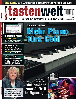 AU10.16 • Buy Yamaha CLP-585 IN Test - Lernfunktionen IN Digital Pianos Workshop - Tastenwelt