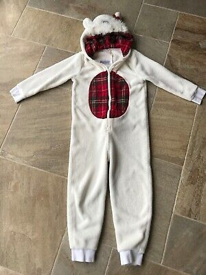 Next Plush Scottie Dog All In One Piece/Jump/Leisure Suit Pyjamas Age 8 Years • 6.99£