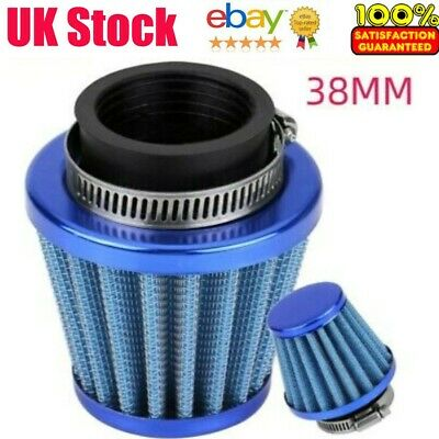 £5.76 • Buy 38mm Performance High Flow Induction Cone Air Filter For Motorcycle Durable