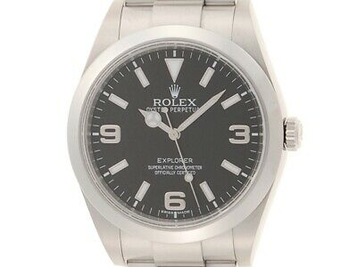 $ CDN10412.51 • Buy ROLEX Explorer 1 214270 Blackout Automatic OH Polished