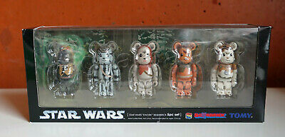 $150 • Buy Bearbrick Be@rbrick Star Wars EWOKS Tokyo Japan Medicom Toy Exhibition 2007