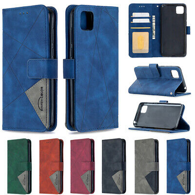 Luxury Leather Flip Wallet Cover Case For Huawei P40 P30 Lite P Smart Y5 Y6 Y7 • 4.99£
