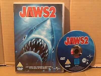 Jaws 2 (DVD, 2009) Excellent Condition • 2.58£