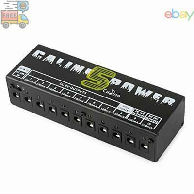 $ CDN48.71 • Buy Caline CP-05 Guitar Pedal Board Power Supply 10 Output 9V 12V 18V Effect Pedals