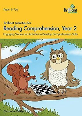 £12.99 • Buy Brilliant Activities For Reading Comprehension, Year 2... By Makhlouf, Charlotte