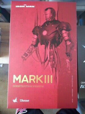 AU800 • Buy Hot Toys DS 003 Iron Man Mark III 3 (Construction Version)