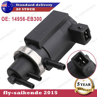 AU38.35 • Buy Turbo Boost Control Valve Pressure Solenoid For Nissan Navara D40 YD25DDTi NEW