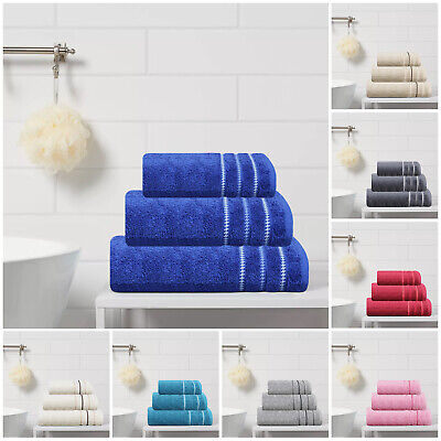 New Premium Quality Egyptian Cotton Towels Bath Hand Face And 600 GSM Bath Sheet • 3.99£