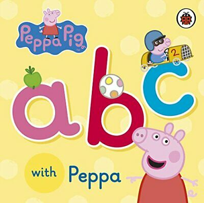 ABC With Peppa New Hardcover Book • 6.39£