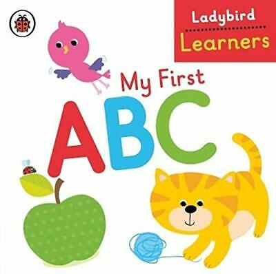My First ABC: Ladybird Learners New Hardcover Book • 5.39£