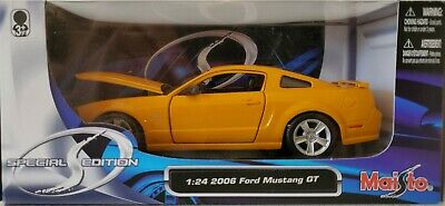 $25 • Buy 2006 FORD MUSTANG GT Maisto 1:24 Special Edition Diecast 1:24 Orange