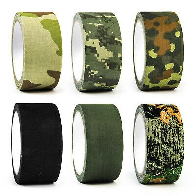 £6.99 • Buy Self-adhesive Camouflage Wrap Tape Rifle Gun Hunting Shooting Stealth Camo Tape