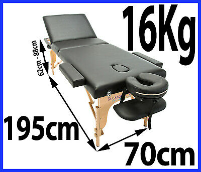 £99.98 • Buy Portable Massage Lightweight Table Couch Beauty Therapy Bed Spa  Tattoo