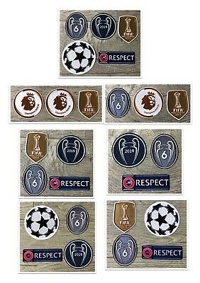 £9.12 • Buy 2019/2020 Liverpool Champions League Soccer Set Winners 6 Trophy Patches