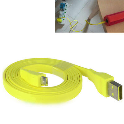 AU6.29 • Buy 60cm Flat Micro USB Charger PC/DC Cable Cord For UE/BOOM MEGA Bluetooth Speaker