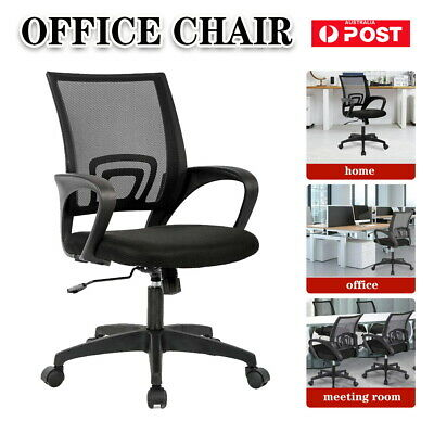AU58.90 • Buy Office Chair Gaming Chair Computer Mesh Chairs Executive 360°Seating Study Seat