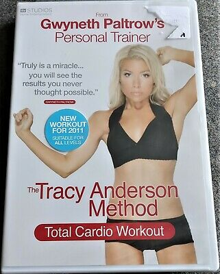 The Tracy Anderson Method - Total Cardio Workout (DVD, 2010) NEW FACTORY SEALED • 2.35£