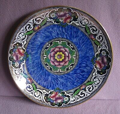 1930s New Hall  Boumier Ware Charger Plate 11 3/4 Inches • 18£