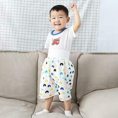 AU16.99 • Buy Baby Waterproof Cotton Training Pant Cloth Colorful Breathable Diaper Skirt
