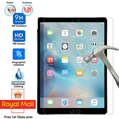 Tempered Glass Screen Protector For Apple IPad 2 3 4 Mini Air 4 Pro 11 10.2 10.9 • 3.89£