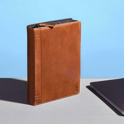 AU127 • Buy TwelveSouth Journal CaddySack Leather Travel Accessory/Cables/Adapter Case Brown