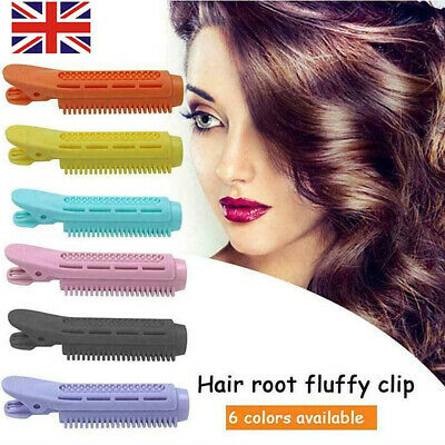 2pcs Volumizing Hair Root Clip Curler Roller Wave Fluffy Clip Styling Tool • 3.39£