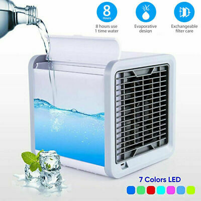AU40.76 • Buy Portable Mini Air Conditioner 3-in-1 Unit Cooling Fan Humidifier Purifier New