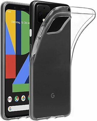 For Google Pixel 4a Case Clear Silicone Ultra Slim Gel Cover  • 2.90£