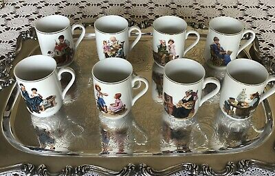 $ CDN27.68 • Buy Norman Rockwell -Mugs Set Of 8 - 1982 Museum Collection. Used- Excellent