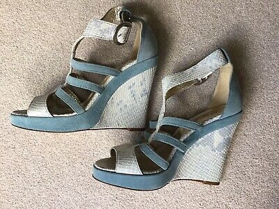Cromia - Beautiful Italian Sandals Leather And Suede Size Eu39/UK6 • 16£