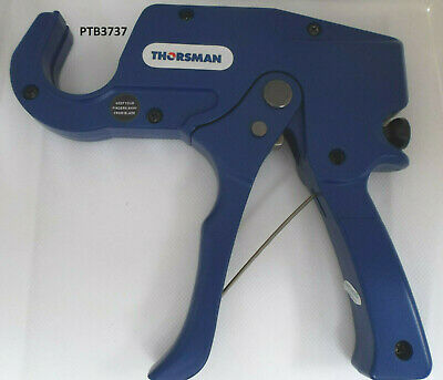 Thorsman 6 - 35mm Plastic PVC,PEX,PP,PB,PVDF, PE Ratchet Pipe Tube Cutter • 18.94£