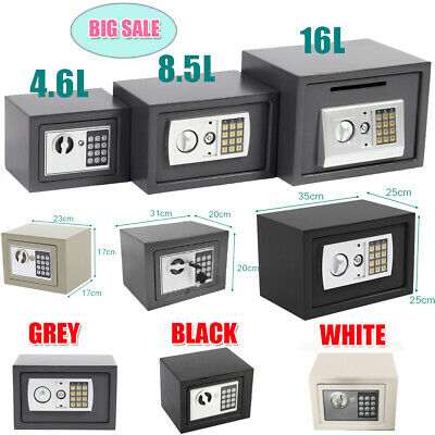£26.99 • Buy Secure Digital Steel Safe High Security Electronic Home Office Money Safety Box