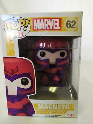Funko Pop! Marvel X-Men - Magneto Vinyl Figure #62 New Minor Box Wear • 17.99£