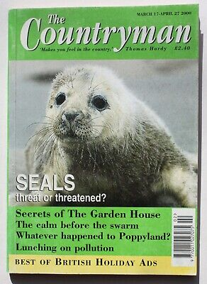 THE COUNTRYMAN MAGAZINE - MARCH/APRIL 2000 - 'Seals Threat Or Threatened?' • 1.99£