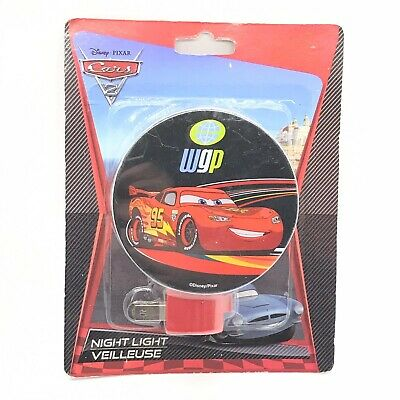 Disney Cars Night Light Plug In 120V With Rotary Shade • 7.49£
