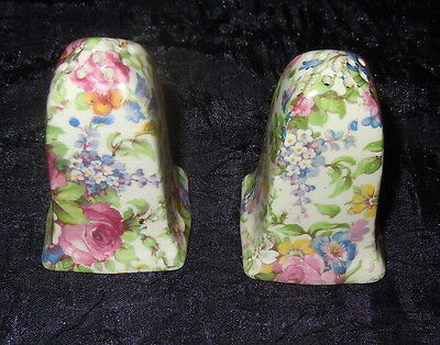 $ CDN40.09 • Buy Royal Winton Chintz SUMMERTIME Salt And Pepper